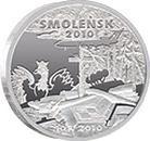 Smoleńsk i Katyń na numizmatach