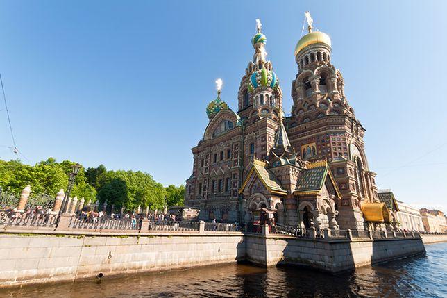 Wycieczka do Petersburga - Sobór Zmartwychwstania Pańskiego, Petersburg, Rosja
