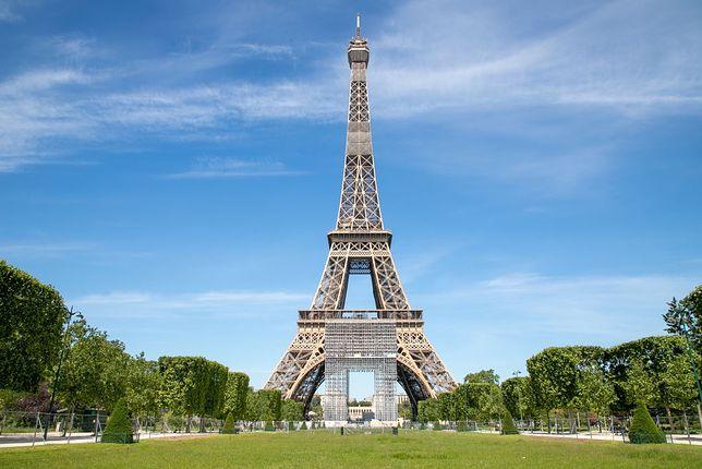Wieża Eiffla otwarta z ograniczeniami