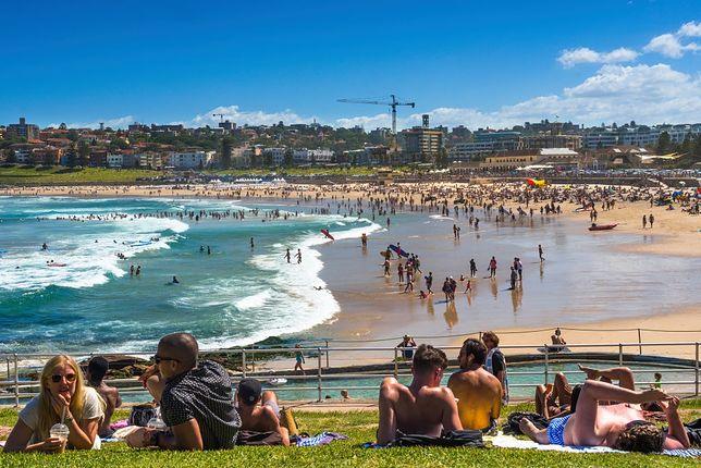 Rekordowe temperatury w Australii