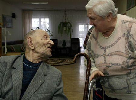 Pan Józef ma 107 lat i czuje się znakomicie
