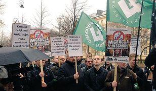 """""""Ukraińcy zagrożeniem dla Narodu Polskiego"""". ONR rozwiesza plakaty w Gdańsku"""