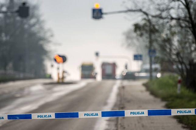 Mazowieckie. Zderzenie dwóch busów dostawczych. Trzy osoby ranne