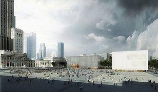 Zamiast placu Defilad, Plac Centralny. Przebudują centrum Warszawy