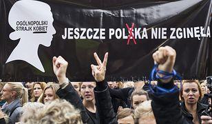 Ogólnopolski Strajk Kobiet. Demonstracja w Warszawie (zdj. arch.)