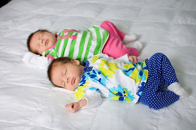 Śpiące bliźniaki