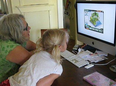 Wspólne spędzanie czasu przed komputerem