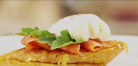 Udany dzień zacznij od śniadania. Zobacz przepis na francuskie tosty z łososiem
