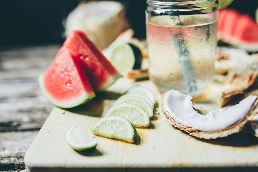 Woda kokosowa na problemy z żołądkiem