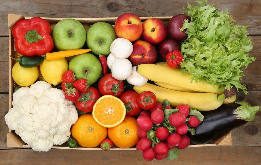 Owoce i warzywa zakazane na diecie