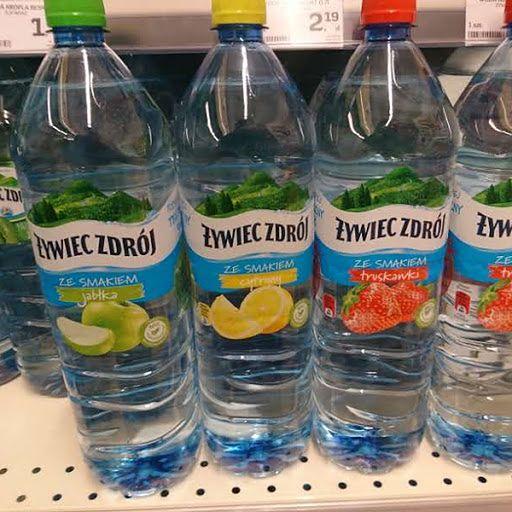 Skład wody smakowej