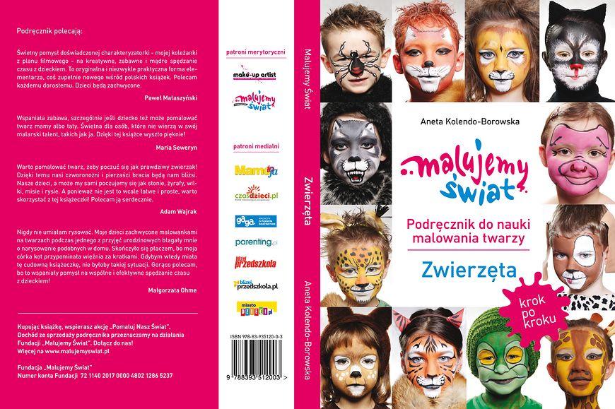 Podręcznik do nauki malowania twarzy
