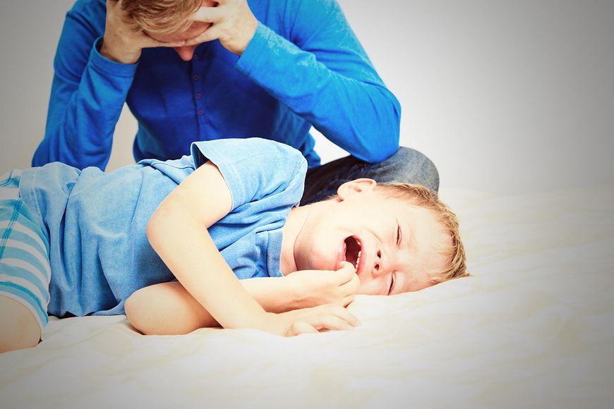 Ataki złości u dzieci