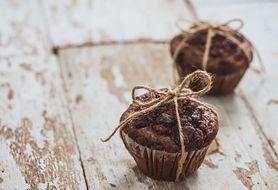 Przepis na zdrowe muffinki z gorzką czekoladą