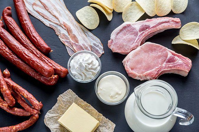 Nasycone kwasy tłuszczowe (SAFA)