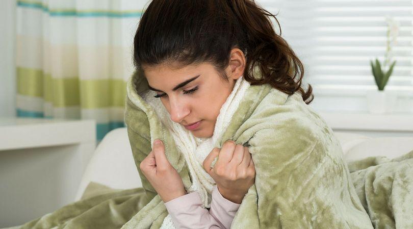 Drżenie jest pierwszą oznaką wychłodzenia organizmu