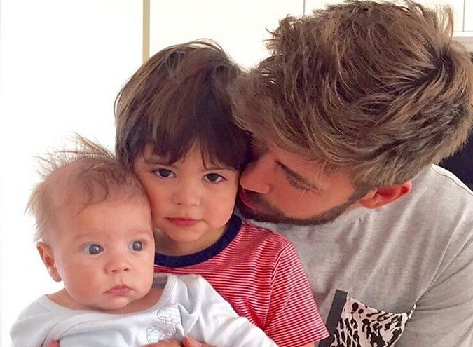 Milan i Sacha - synowie Gerarda Pique