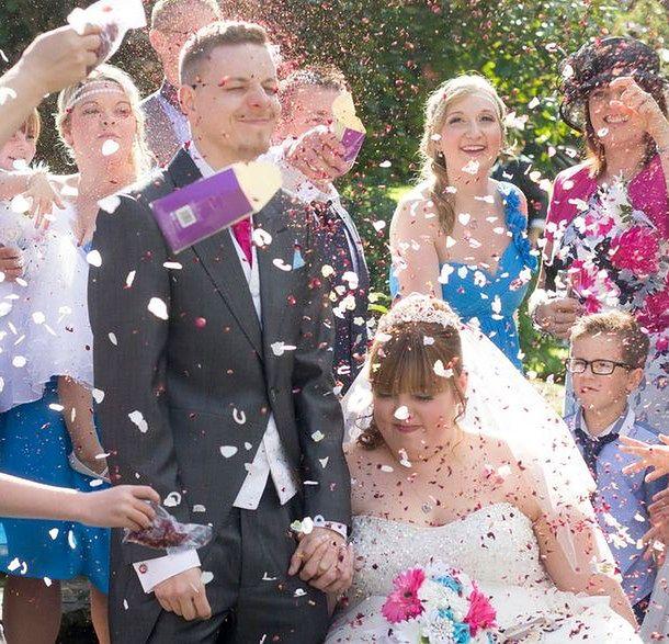 Ślub Kirsty i Bena Bell