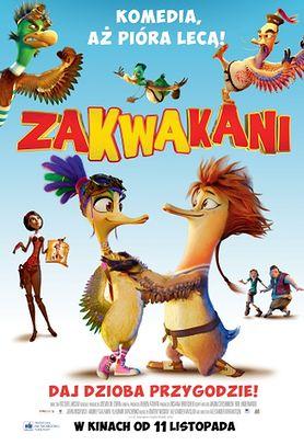 Zakwakani - komedia aż pióra lecą. W kinach już od 11 listopada!