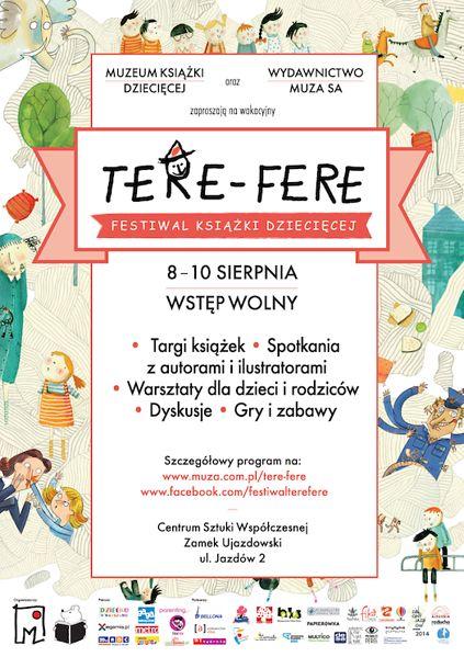 """Festiwal Książki Dziecięcej """"Tere-Fere"""""""