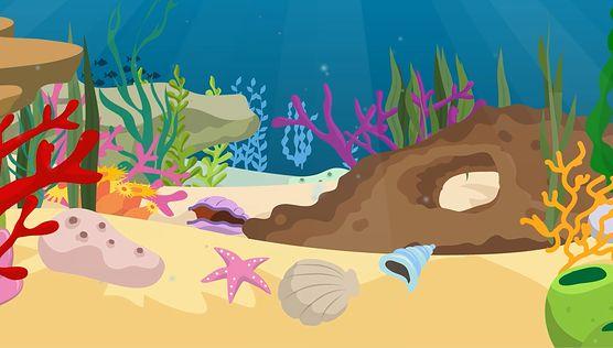 Poznaj podwodny świat z kolorową rybką!