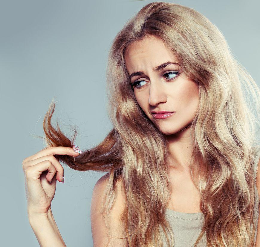 Problemy ze skórą i włosami