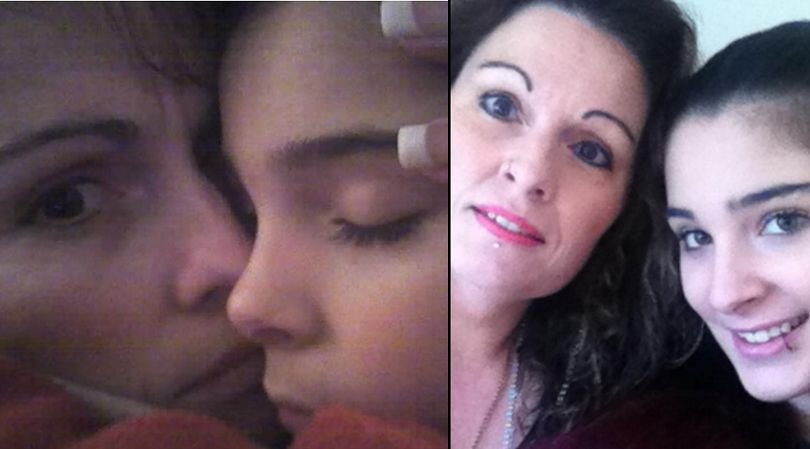 Cassidy Trevan i jej mama Linda