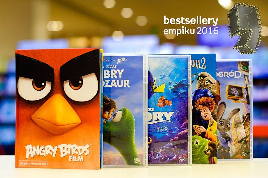 Nominacje film - Bestseller Empiku 2016