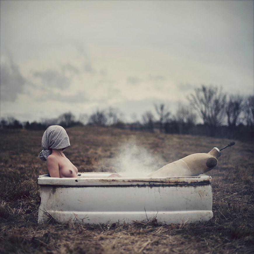 Nicolas Bruno i fotografie ukazujące halucynacje