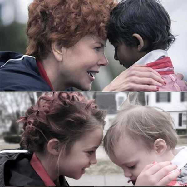 "Najmłodsza córka Storino jako bohater filmu ""Lion. Długa droga do domu"""