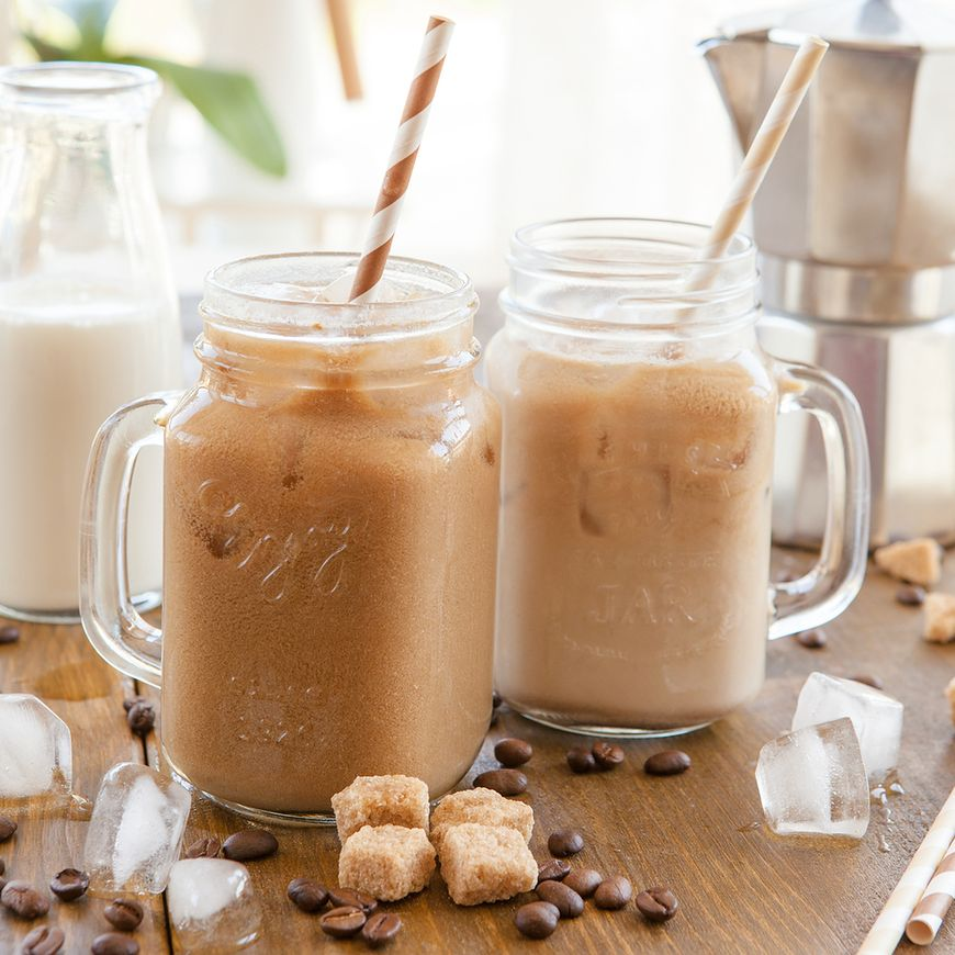 Solona kawa mrożona
