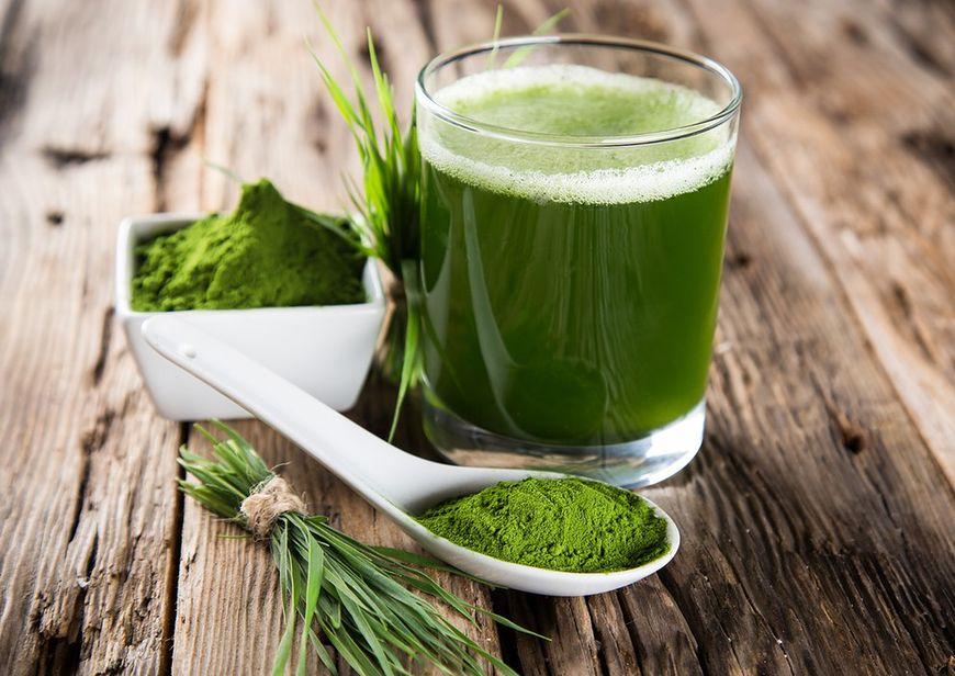Sok z zielonego jęczmienia