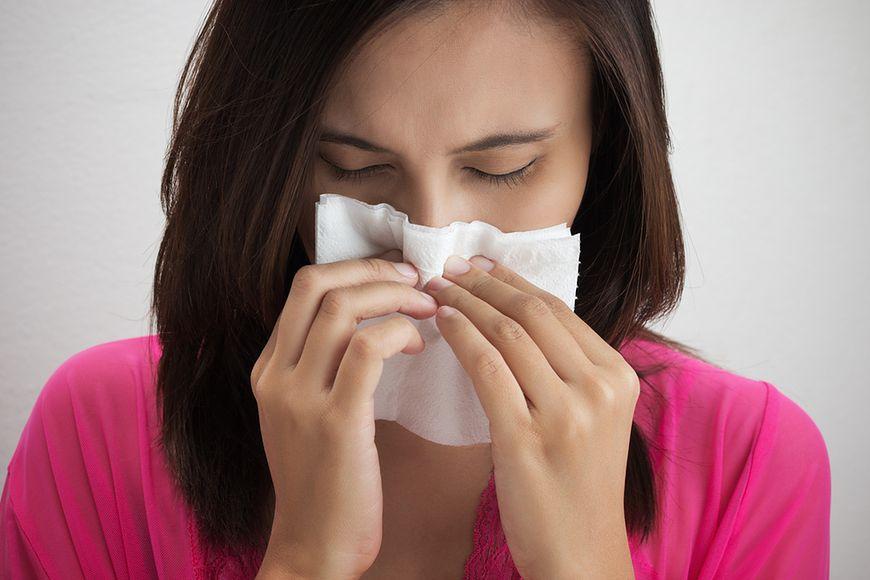 Czynnik drażniący, lecz nie alergia