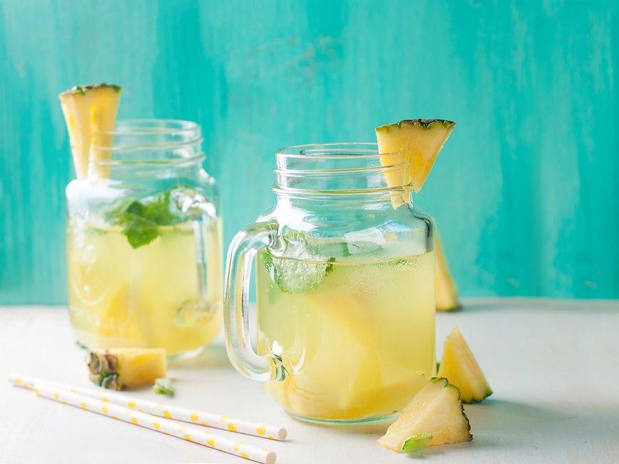 Woda imbirowo-ananasowa