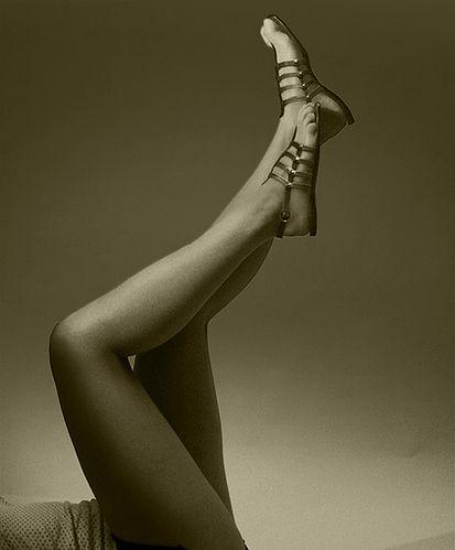 Piękne zadbane nogi