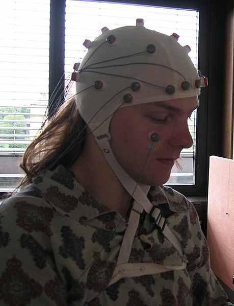 Pacjent w czasie badania EEG