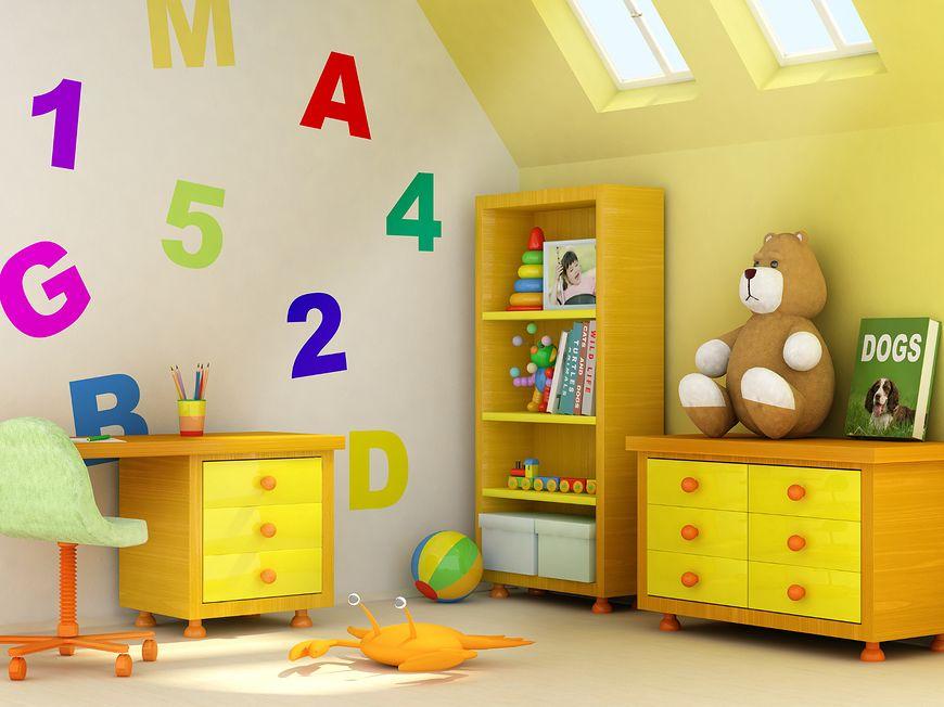 Kolorystyka pokoju dziecięcego