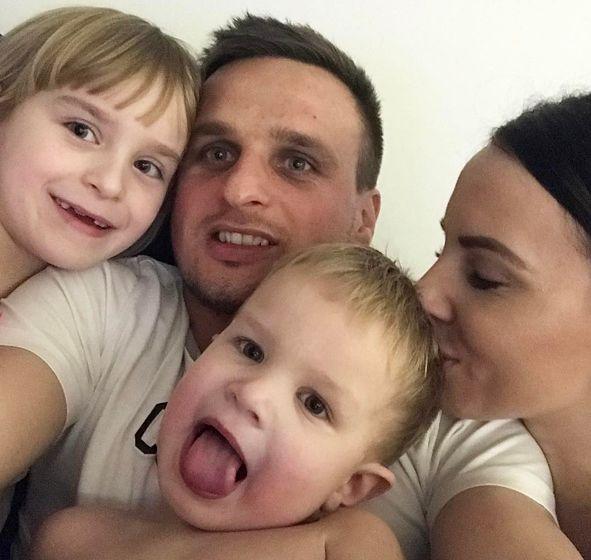 Sławomir Peszko wychowuje dwójkę dzieci