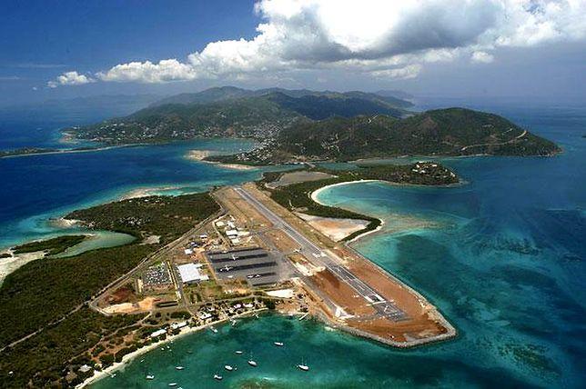 Port lotniczy na Beef Island, Brytyjskie Wyspy Dziewicze
