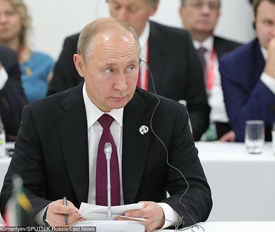 Władimir Putin podczas szczytu G20