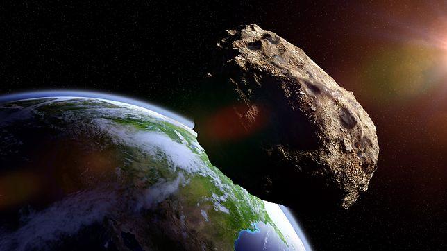 Potencjalnie niebezpieczne asteroidy zbliżają się do Ziemi regularnie