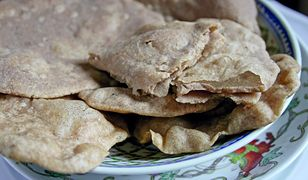 Chlebki gryczane w stylu indyjskim
