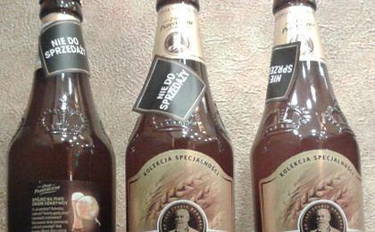 W Warszawie rozdają piwo za darmo