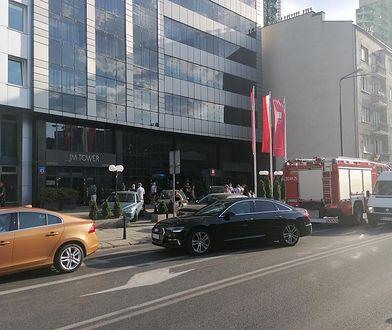 Warszawa. Pożar w hotelu Leonardo. Brawa dla ochrony