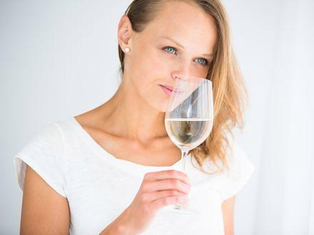 Wino dodaje urody