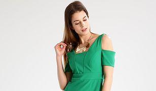 Sukienka na wesele w kolorze zielonym to modny wybór