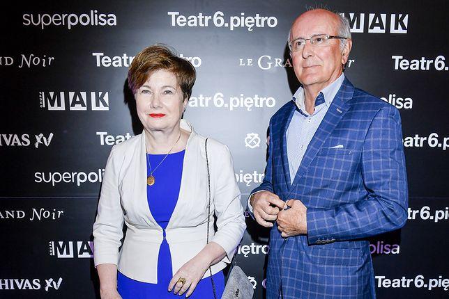 Hanna Gronkiewicz-Waltz z mężem Andrzejem