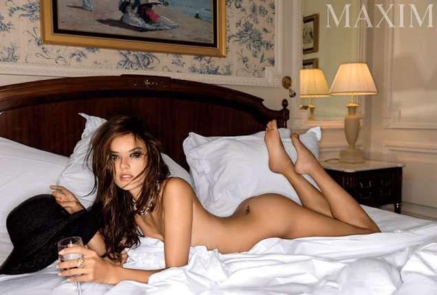 """Alessandra Ambrosio w gorącej sesji dla """"Maxim"""""""