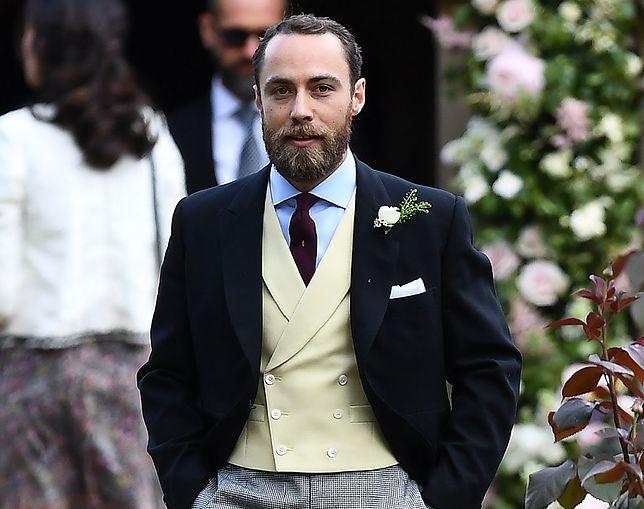 James Middleton podpadł rodzinie księżnej Kate