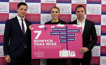 Wizz Air inwestuje 100 mln dolarów w bazę w Warszawie. Udostępni nowe trasy